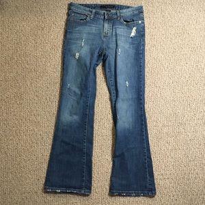 Calvin Klein Distressed Bootcut jeans 31x29